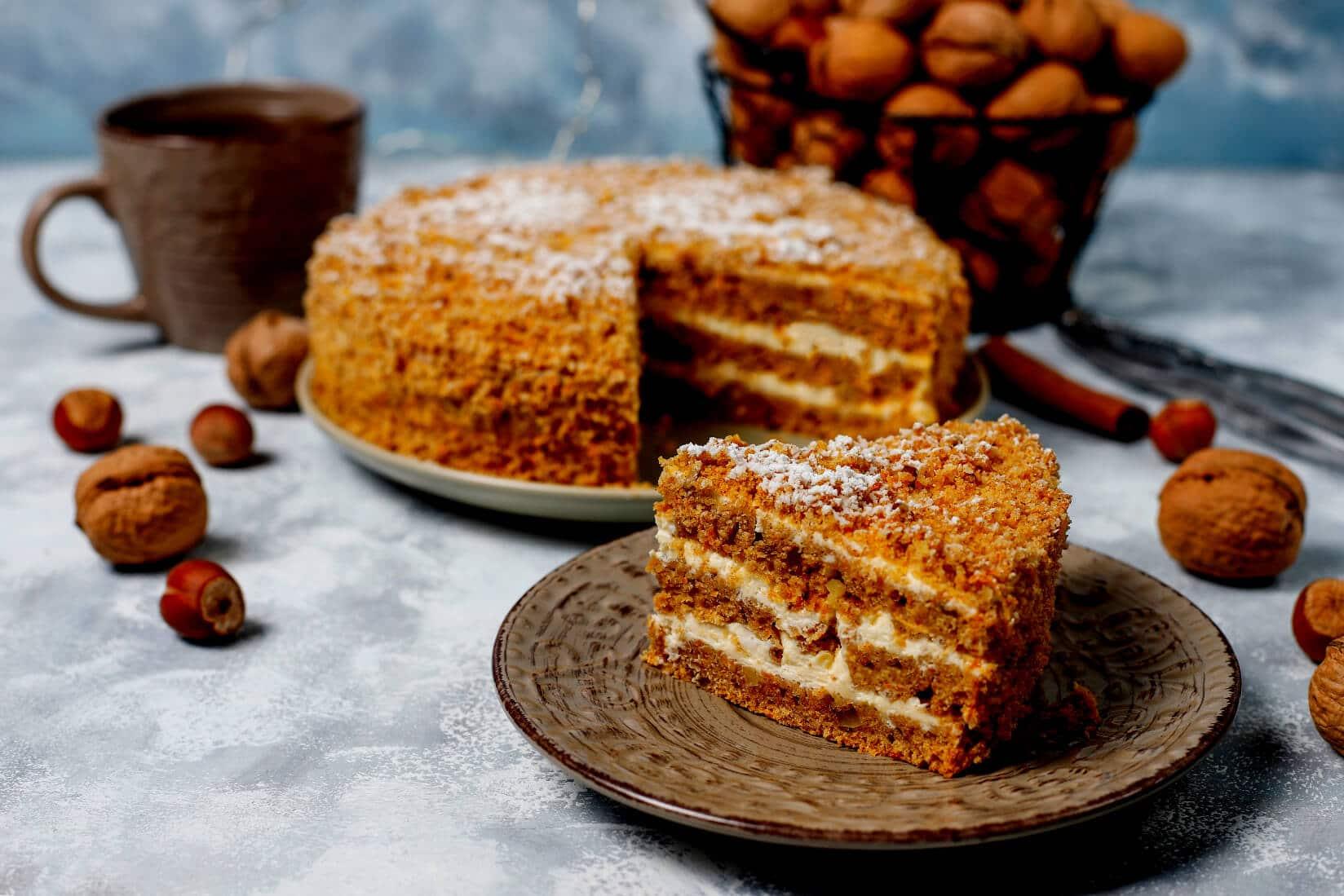 Ciasta z miodem